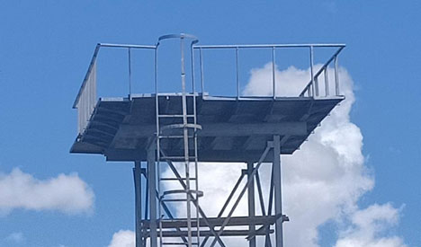 Fabrication & Installation Of Steel Elevated Water Tank Tower